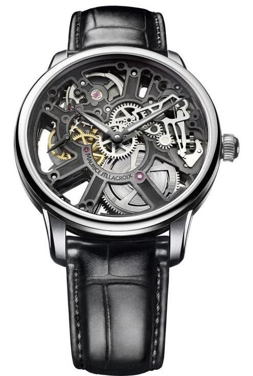 Maurice Lacroix Masterpiece Skeleton 43mm MP7228-SS001-000-1 Replica Watch